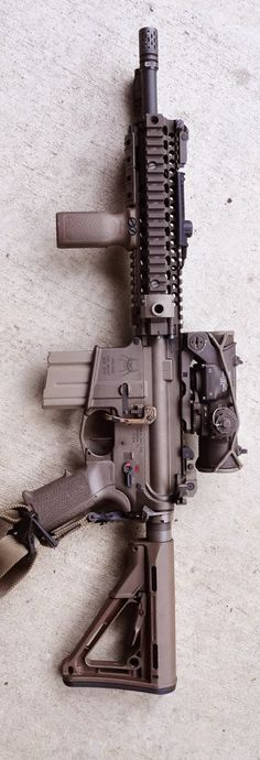 AR-15 Spider Tactical & ACOG sight
