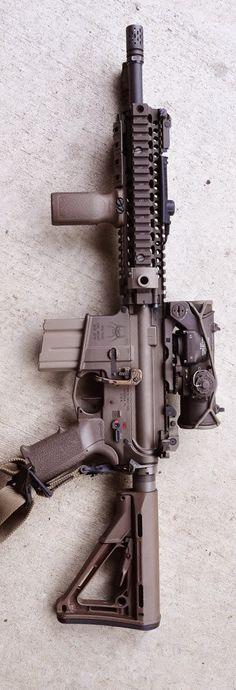AR-15 Spider Tactical & ACOG sight
