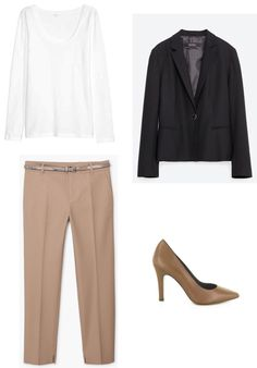 Workwear, Suits, Formal, Polyvore, Image, Fashion, Preppy, Moda, Work Wear