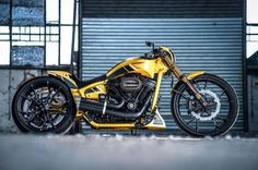 """Harley-Davidson® Softail Dragster """"Silverstone"""" by Thunderbike Triumph Motorcycles, Custom Motorcycles, Custom Bikes, Harley Davidson Museum, Harley Davidson Chopper, Harley Davidson Motorcycles, Chopper Motorcycle, Scrambler Motorcycle, Motorcycle Style"""