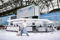 Chanel Airlines! #PFW