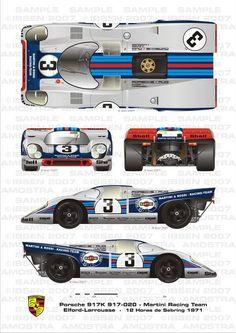 Porsche Sebring 1971 Elford-Larrousse by ibsenop on DeviantArt: Sports Car Racing, Racing Team, Drag Racing, Sport Cars, Motor Sport, Auto Racing, Sport Bikes, Gt Cars, Indy Cars
