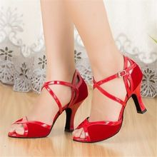 http://babyclothes.fashiongarments.biz/  Flock Red Black Salsa Shoes Ladies Latin Dance Shoes Woman Ballroom Dance Shoes Girls Peep Toe Customized Heels JYG528, http://babyclothes.fashiongarments.biz/products/flock-red-black-salsa-shoes-ladies-latin-dance-shoes-woman-ballroom-dance-shoes-girls-peep-toe-customized-heels-jyg528/,  ,   The measurement may has a little(1mm-5mm) error because of  the handwork.Our size table is for your reference.                    Product Attribute       Heel…