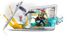 Ofrecemos un amplio abanico de servicios gráficos creativos en www.tusweb.es