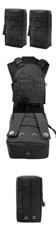 Waist Packs and Bags 181380: 2 Pack Molle Pouches Tactical Compact Water Resistant Edc Pouch Black -> BUY IT NOW ONLY: $30.73 on eBay!
