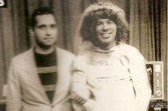 Viu essa? Livro traz foto inédita, mostra Silvio Santos vestido de noiva :-) - Blue Bus