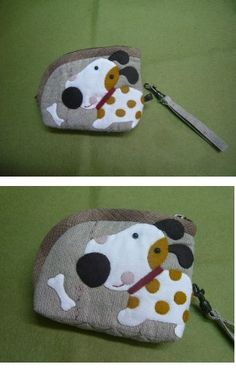 Puppy purse (or treat pouch)