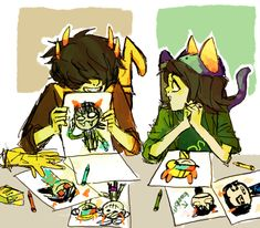Mituna and Nepeta, this is too adorable!!!