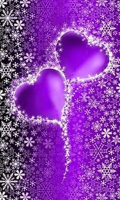 Black and Purple Hearts Backgrounds Heart Iphone Wallpaper, Purple Wallpaper, Butterfly Wallpaper, Love Wallpaper, Love Heart Images, Heart Pictures, Heart Pics, Purple Love, All Things Purple