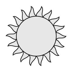 Free Sun Clipart - Public Domain Sun clip art, images and graphics ❤ liked on Polyvore featuring fillers, backgrounds, circle, doodles, decor, circular, round and scribble