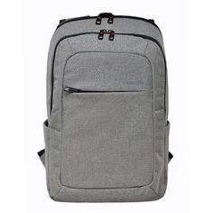 Slotra Daypack Laptop Rucksack 12,1-15,6 Zoll Multifunktionen Schule Outdoor Business Backpack für Herren und Damen Grau, 30x18 x45 cm: Amazon.de: Koffer, Rucksäcke & Taschen