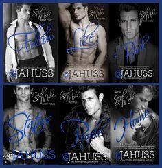 Românticos e Eróticos Book: J.A. Huss - Social Media #1 e #2