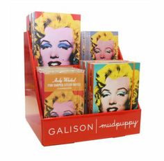ANDY WARHOL MARILYN ASS DIS - Bobangles #Galison #AndyWarhol #art #stationery #display