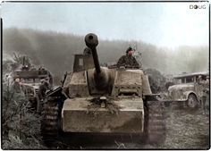 A German StuG III Ausf.G in the Ardennes. December, 1944.