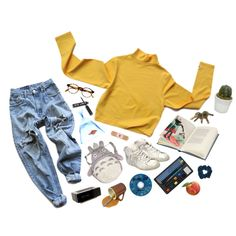 wherever you are by kampow on Polyvore featuring Levi's, Golden Goose, François Pinton, Garden House, Jonas Damon, women's clothing, women's fashion, women, female and woman