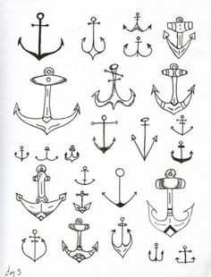Anchors..... the top left one!