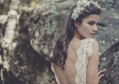Boho Chic Wedding Dresses Collection By Laure de Sagazan French Wedding Dress, Boho Chic Wedding Dress, Used Wedding Dresses, Wedding Gowns, Lace Wedding, Ethereal Wedding, Backless Wedding, Romantic Lace, Bridal Beauty