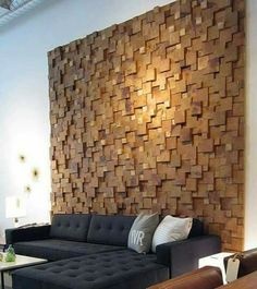 99 Inspiring Modern Wall Texture Design for Home Interior Modern Furniture Toronto, Classic Furniture, Wall Texture Design, Wood Texture, Diy Wand, Into The Woods, Minimalist Home Decor, Modern Minimalist, Wooden Walls