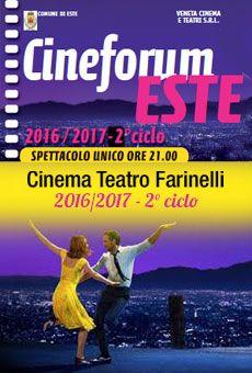 Cineforum Este 2° ciclo - 2016-2017 - . Tutti i tuoi eventi su ViaVaiNet, il portale degli eventi più consultato per il tempo libero nella provincia di Rovigo e nella Bassa Padovana