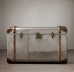 "Richards' Trunk Tall Coffee Table | 35½""W x 21½""D x 21¾""H | $1,440"