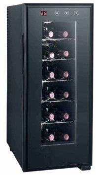 SPT WC-1272H Thermo Electric Wine Cooler with Heating Technology 12 bottles