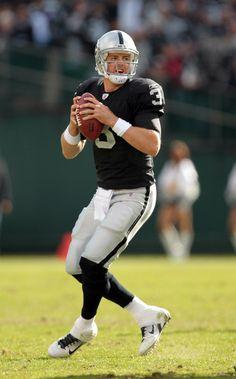 REPRESENT ORANGE COUNTY, CALIFORNIA!!!!!!!  Carson Palmer #3 of the Oakland Raiders