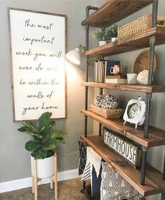 Home Living Room, Apartment Living, Diy Living Room Furniture, Log Furniture, Furniture Ideas, Furniture Design, Diy Home Decor, Wood Home Decor, Home Decor Store