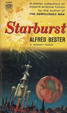 Author: Alfred Bester Publisher: Signet S1524 Year: 1958 Print: 1 Cover Price: $0.35 Condition: Very Good Plus Genre: Science Fiction