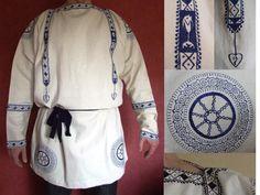 Late Roman Coptic Tunic (Blue decoration) - Click Image to Close