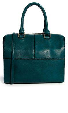 Asos Teal Bag, £38 | Look