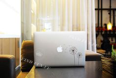 Dandelion Decal Macbook Air Sticker Macbook Air Decal Macbook