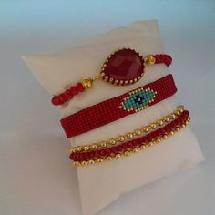 Loom Bracelet Patterns, Bead Loom Bracelets, Bead Loom Patterns, Jewelry Art, Beaded Jewelry, Handmade Jewelry, Bijoux Diy, Loom Beading, Leather Jewelry