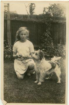 1920's.  very cute