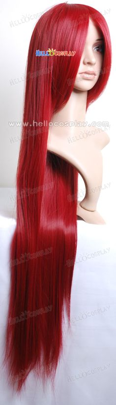 red wigs for black women | This wig is provided to customers who love DIY cosplay wigs. It is ...