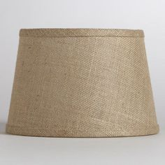 Natural Burlap Accent Lamp Shade