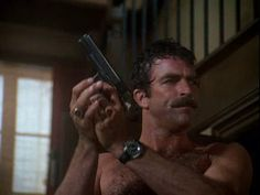 Pro-Gun Celebrities,  - om Selleck - A board member of the NRA and proud supporter of the right to bear arms, Selleck has probably spent more time defending his beliefs throughout his career than he has anything else. Fortunately, outside pressures haven't changed his views and he still proudly supports the Second Amendment.