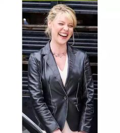 Grab this Katherine Heigl State of Affairs Coat to imply stunning to attract as your great taste in fashion.Its help you to show off more feminine side and flair for style.Order your coat today now! #KatherineHeigl #StateofAffairs #LeatherCoat #womenFashion #fitgirl