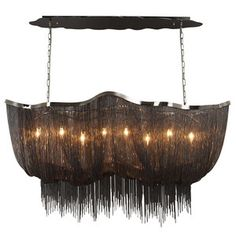 """Mulholland Drive Chandelier 59"""", $2,369, now featured on Fab."""