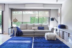 Not all blues are Monday Blues! Feeling bright and bold in shades of Alaska Blue from our Early Hours collection. Lorena Canals Rugs, Washable Rugs, Interior Decorating, Interior Design, Color Azul, Soft Colors, Modern Decor, Interior Inspiration, Alaska