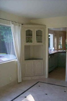 Find One At Thrift Store And Remodel Dining Room Built In Cabinet Great Use Of