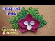 Quilling Butterfly, Arte Quilling, Paper Quilling Patterns, Quilled Paper Art, Quilling Craft, Quilling Flowers, Diy Paper, Paper Crafts, Quilling Instructions