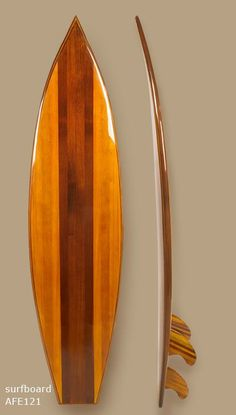 hand crafted wooden surfboard; Only a few craftsmen now have the skills needed…