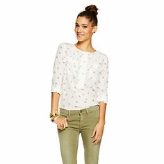 Just fell in love with the Silk Bumble Bee Shirt for $128 on C. Wonder! Click on the image and receive 20% off your next full-price purchase and find something you love too!