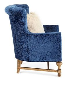 H8M4P Old Hickory Tannery Gaynor Sapphire Chair