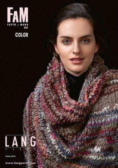 Lang Yarns FAM Fatto a Mano 211 Collection Strickheft mit Strickanleitungen