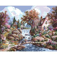 Plaid Paint by Number Kit, Angel Falls, 16-Inch by 20-Inch by Plaid, http://www.amazon.ca/dp/B00C6Z18WG/ref=cm_sw_r_pi_dp_uTlltb1DHZF4F