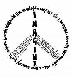The lyrics to imagine by john lennon