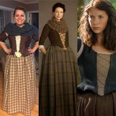 Claire Fraser Halloween Costume DIY outlander