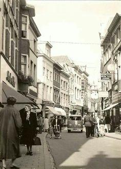 Foto Jansstraat rond 1955 1956