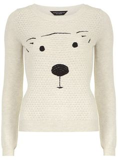 quilted bear jumper Winter Jumpers 8f339e92b